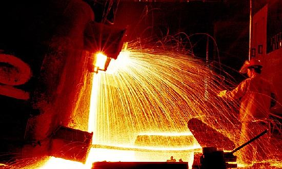 硅铁刺火现象